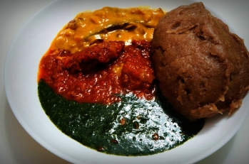 amala-and-ewedu
