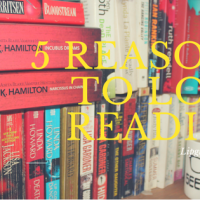 5 Reasons To Love Reading...
