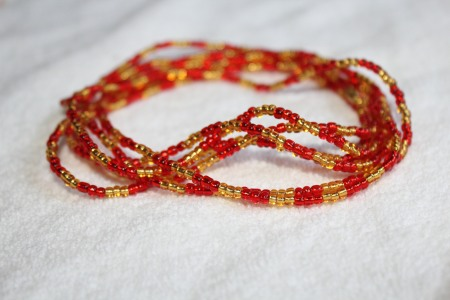 Lipglossmaffia's blog DIY waist beads (14)